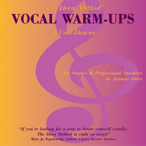 Deva Method Vocal Warm-Up – CD