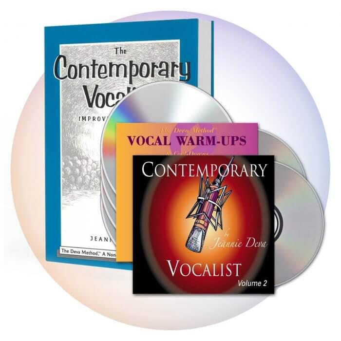 Contemporary Vocalist 1&2 plus Warm-up CD
